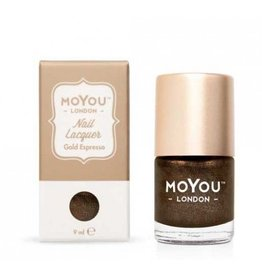 MoYou London MoYou Stempellak 9 ml Gold Espresso