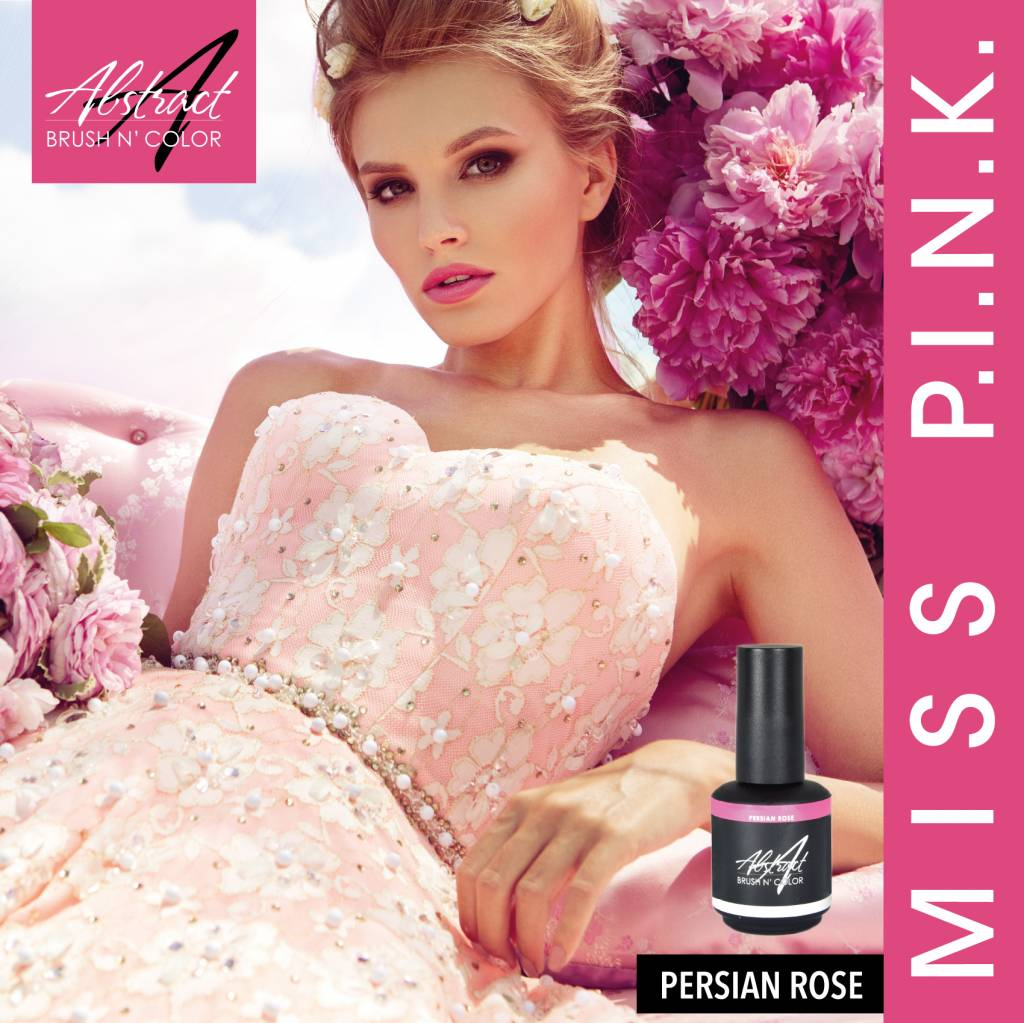 Abstract Abstract Brush n' Color 15 ml Persian Rose