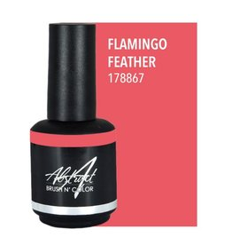 Abstract Brush N' Color 15 ml Flamingo feather
