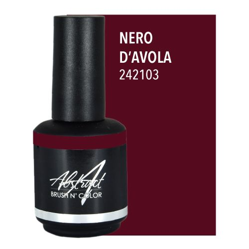 Abstract Abstract Brush n' Color 15 ml Nero d'Avola