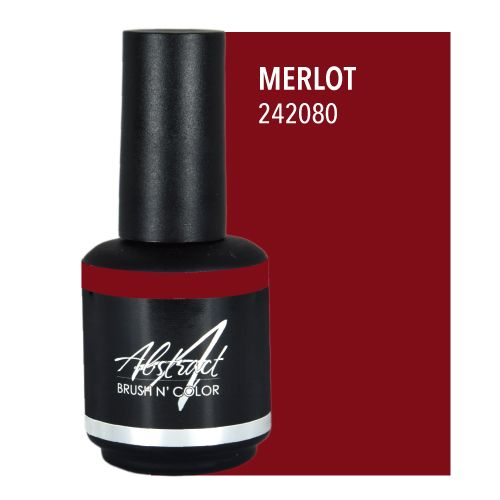 Abstract Abstract Brush n' Color 15 ml Merlot