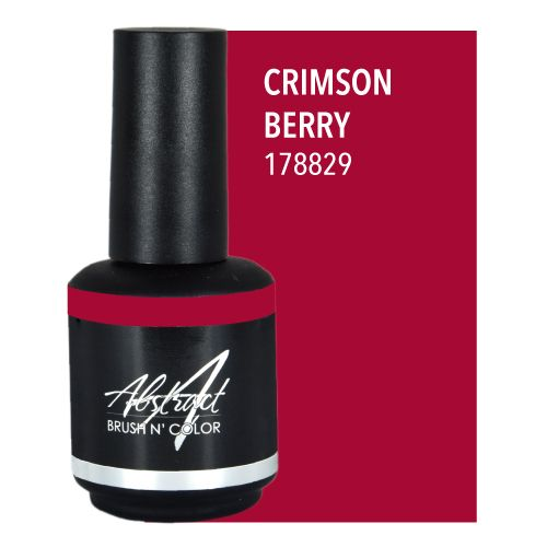 Abstract® Brush N' Color 15 ml Crimson berry