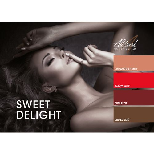 Abstract Brush N' Color collectie Sweet Delight