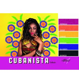 Abstract Abstract gel de couleur collection Cubanista