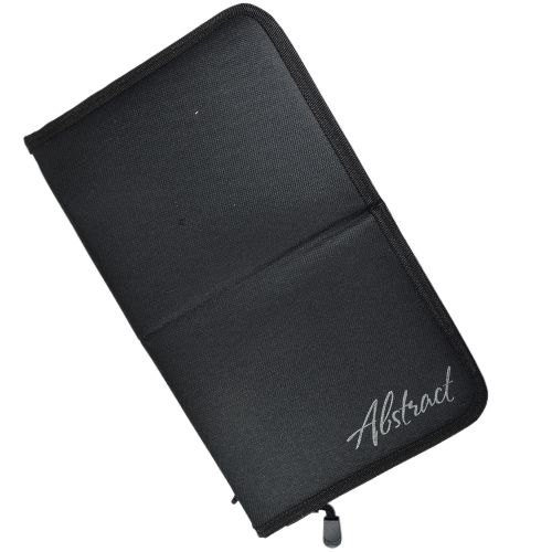 Abstract Brush bag stand up Black