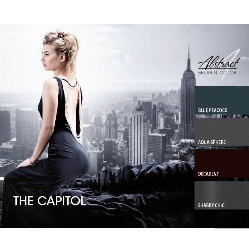 Abstract Brush N' Color 15 ml collectie The Capitol