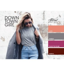 Abstract Brush N' Color collectie Down Town Girl