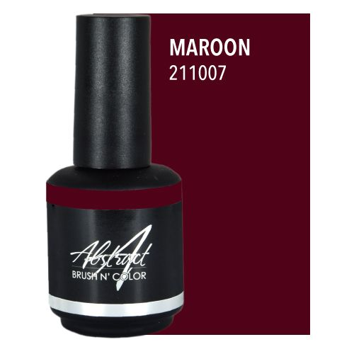 Abstract Abstract Brush n' Color 15 ml Maroon