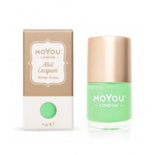 MoYou London MoYou stamping nail polish 9 ml Winter Green