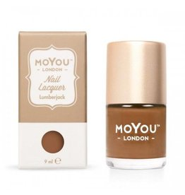 MoYou London MoYou stamping nail polish 9 ml Lumberjack