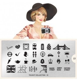 MoYou London MoYou Stamping Plate - Tourist 01