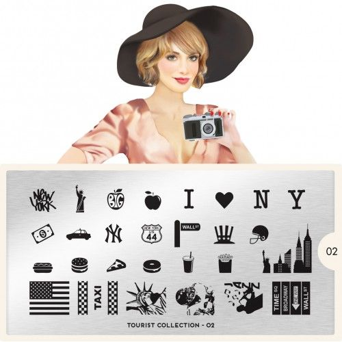 MoYou London MoYou Stamping Plate - Tourist 02