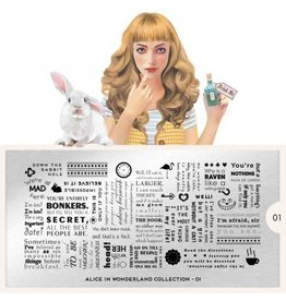 MoYou London MoYou Stamping Plate - Alice 01