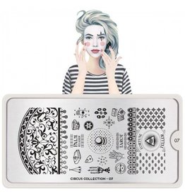 MoYou London MoYou Stamping Plate - Circus 07