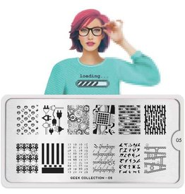 MoYou London MoYou Stamping Plate - Geek 05