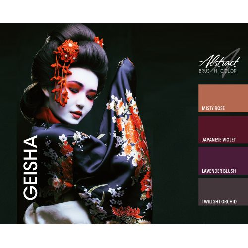 Abstract Abstract Brush n' Color 15 ml Japanese Violet