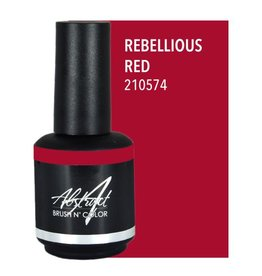 Abstract Abstract Brush n' Color 15 ml Rebellious Red