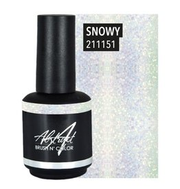 Abstract Abstract Brush n' Color 15 ml Snowy