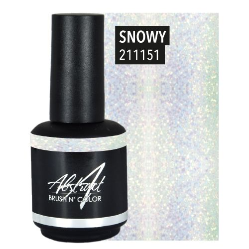 Abstract Brush N' Color 15 ml Snowy