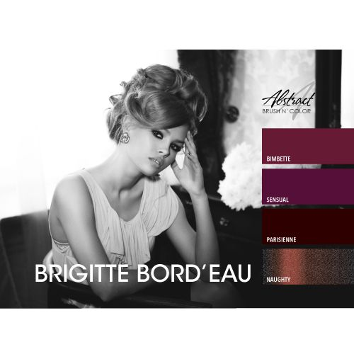 Abstract® Brush N' Color 15 ml collectie Brigitte Bord'eau