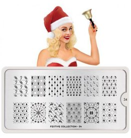 MoYou London MoYou Stamping Plate - Festive 34