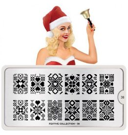 MoYou London MoYou Stamping Plate - Festive 38