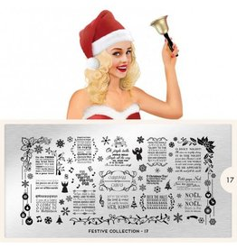 MoYou London MoYou Stamping Plate - Festive 17