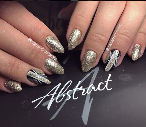 Abstract Abstract  gel de couleur 5 ml Glitter Prosecco Deluxe GLT32