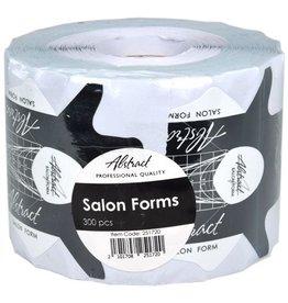 Abstract® Salon Forms sjablonen 300 stuks