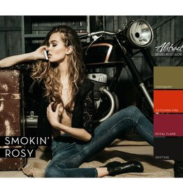Abstract Brush N' Color collectie Smokin' Rosy