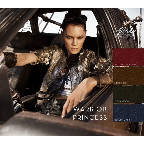Abstract Abstract Brush n' Color collection Warrior Princess