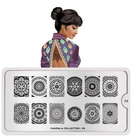 MoYou London MoYou Stamping Plate - Mandala 04