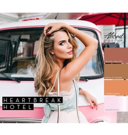 Abstract® Abstract Brush n' Color Heartbreak Hotel collection