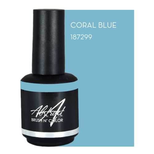 Abstract Abstract Brush n' Color 15 ml Coral Blue