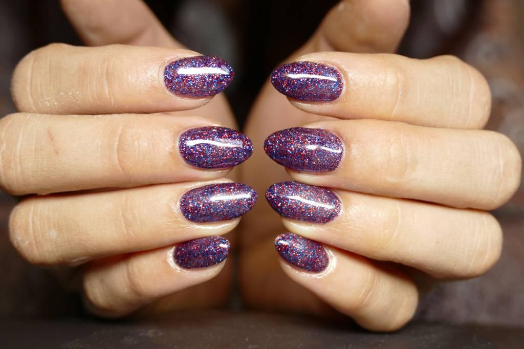 Abstract® Colorgel 5 ml Glitter RedBlue GLT14