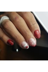 Abstract Colorgel 5 ml Glitter Wine Red GLT25