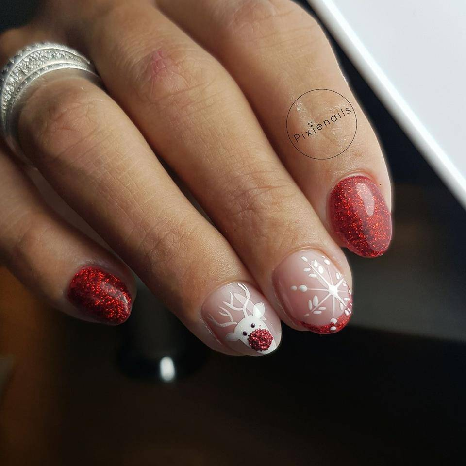 Abstract® Colorgel 5 ml Glitter Wine Red GLT25