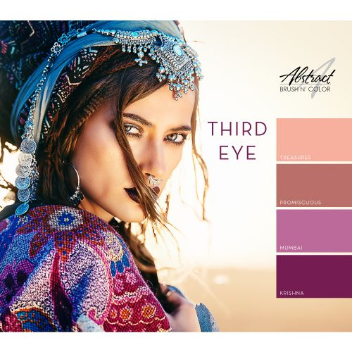 Abstract Abstract Brush n' Color Third Eye collectie