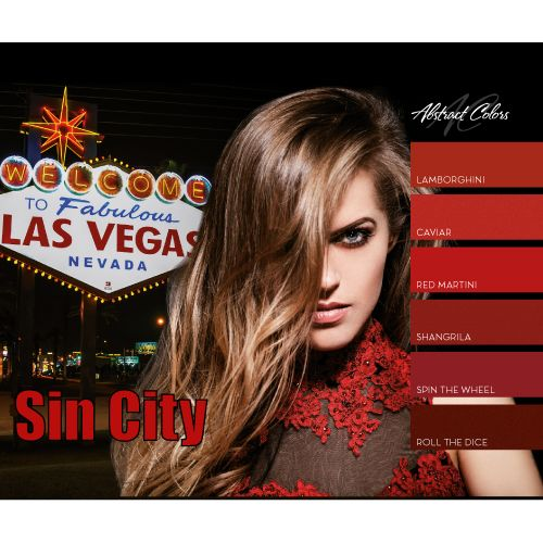 Abstract Abstract colorgel Sin City collectie