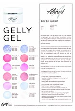 Abstract Abstract gelly gel sparkling milky white 15 ml