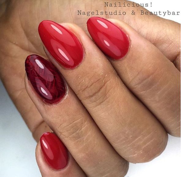 Abstract Abstract colorgel Carmen red CG06