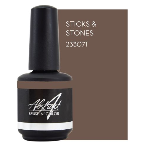 Abstract Brush n' Color 15 ml Sticks & Stones