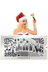 MoYou London Copy of MoYou Stamping Plate - Festive 20