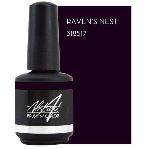 Abstract Brush n' Color Raven's Nest