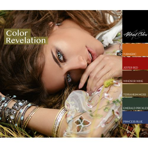 Abstract Colorgel collectie Color Revelation