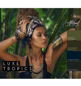 Abstract Brush N'  Color collectie Luxe Tropics