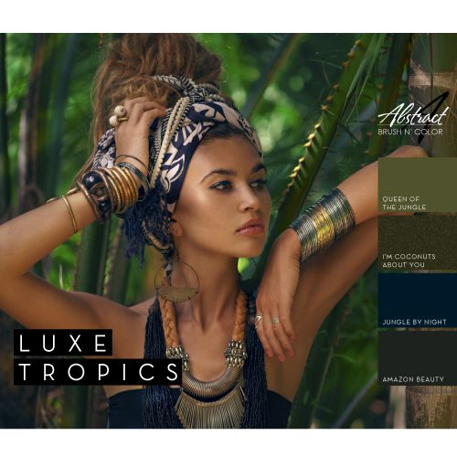 Abstract Abstract Brush 'n Color Luxe Tropics collectie