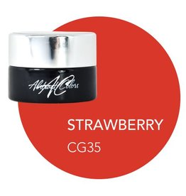 Abstract Abstract gel de couleur 5 ml  Strawberry CG35