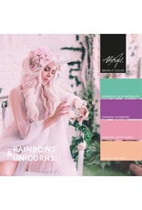 Abstract Brush N' Color collectie Rainbows & Unicorns