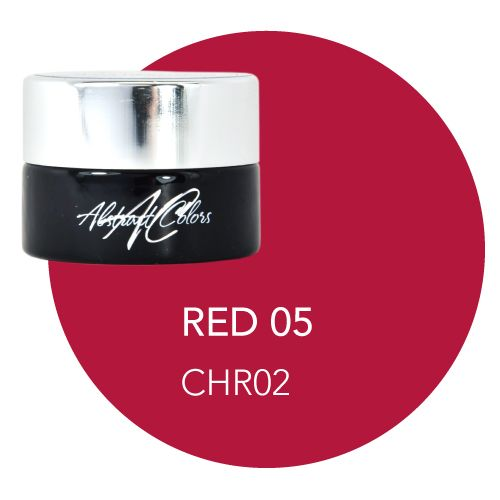 Abstract Abstract gel de couleur 5 ml Red 05 CHR02